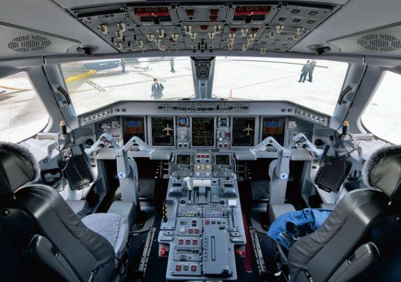 Embraer Lineage 1000 cockpit