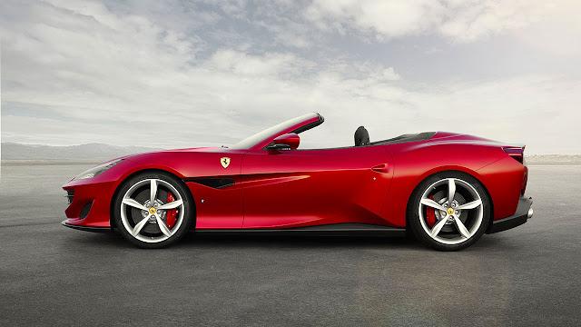 Ferrari at the Goodwood Festival of Speed 2018 - Portofino
