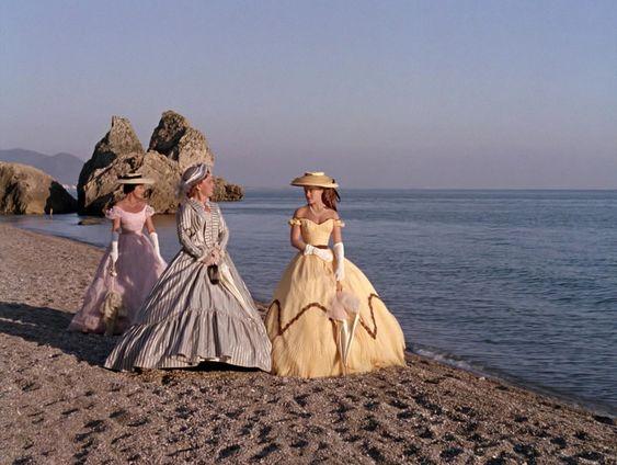 Cena da praia do filme Sissi