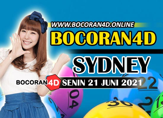 Bocoran Togel 4D Sydney 21 Juni 2021