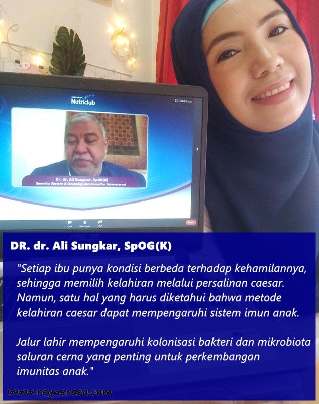 Dokter Spesialis Obstetri dan Ginekologi Konsultan Fetomaternal DR. dr. Ali Sungkar