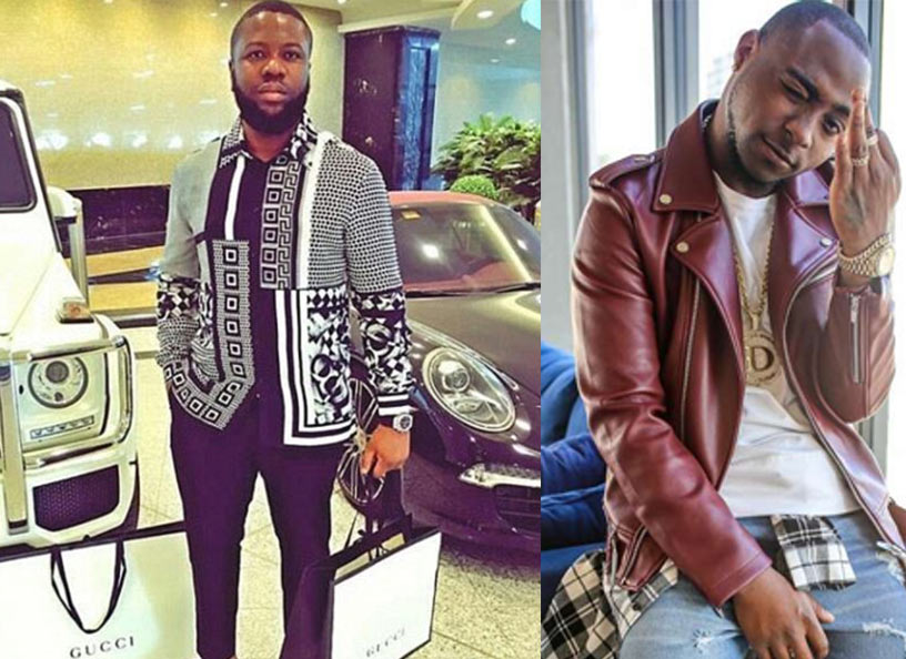 Malaysian big boy Hushpuppi spends N11.5m in Lagos nightclub, challenges Davido