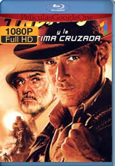 Indiana Jones 3: La Última Cruzada (1989) [1080p BRrip] [Latino-Inglés] [LaPipiotaHD]