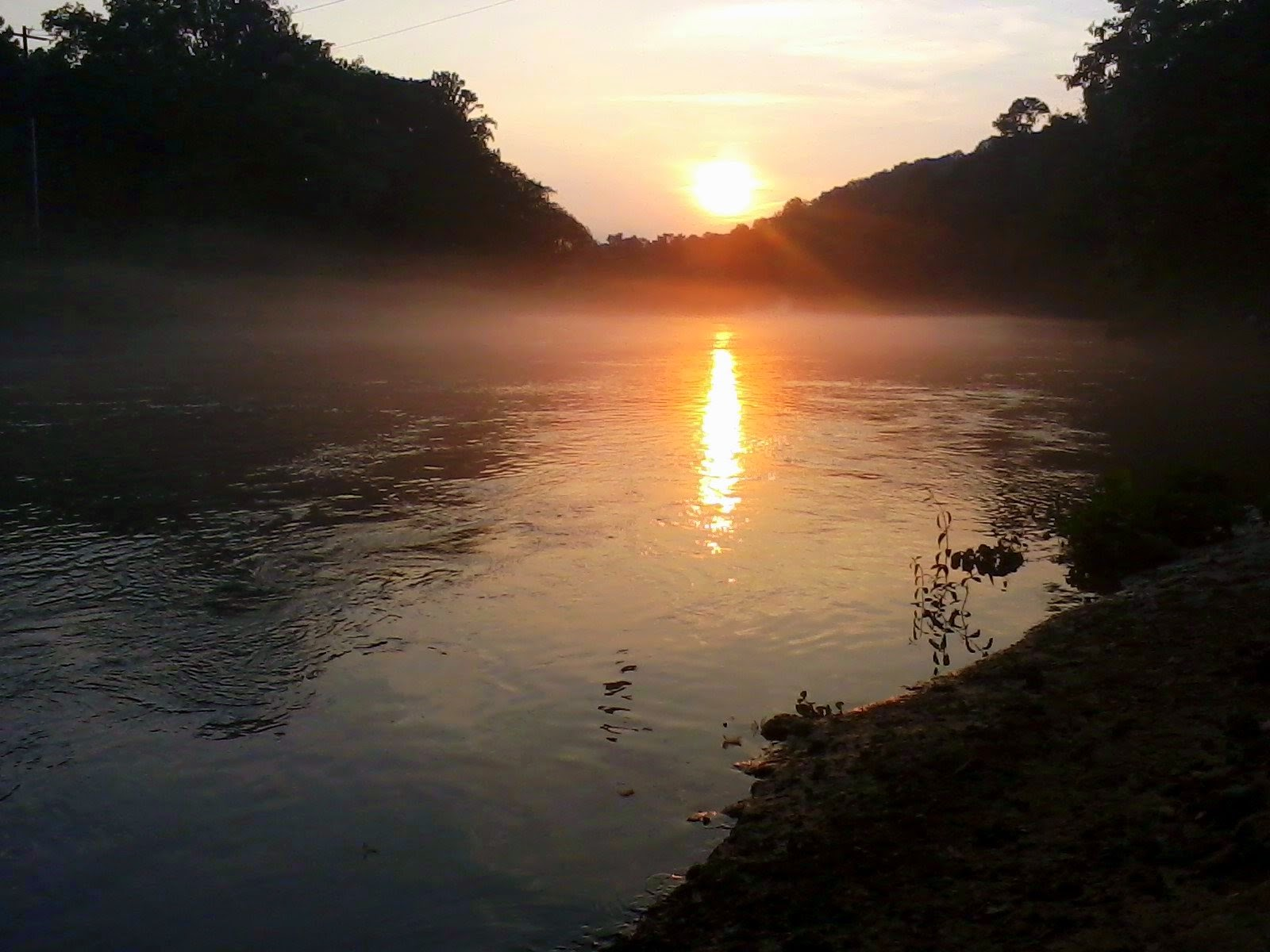Chatahoochee River Sunset