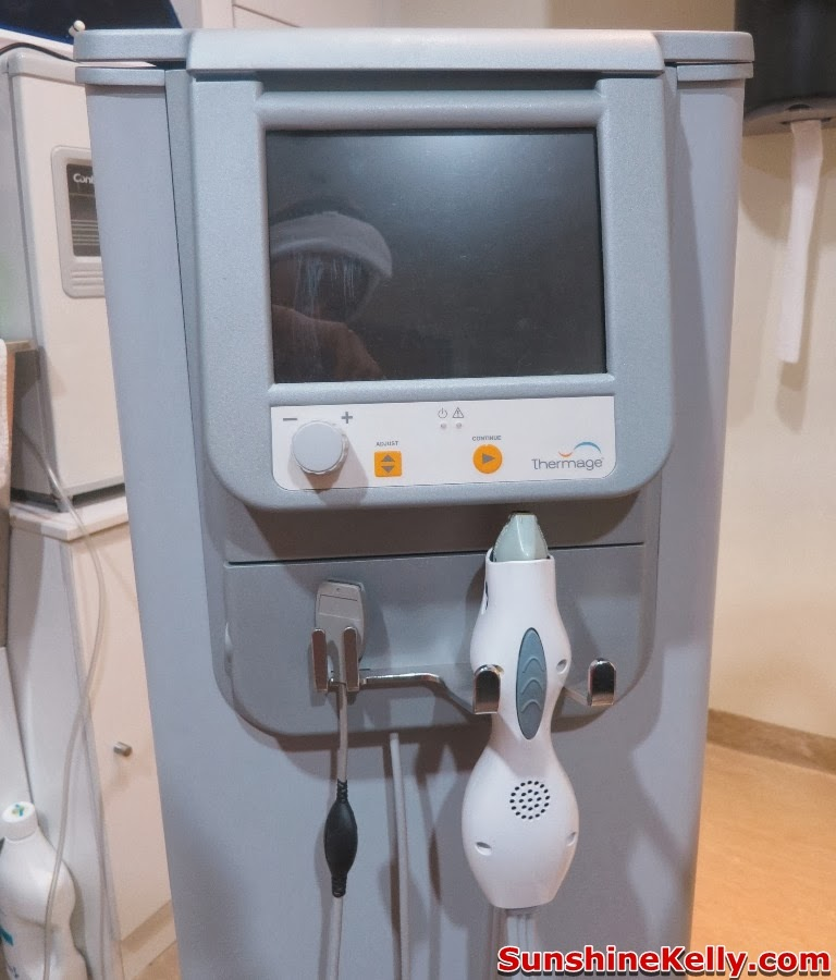 Thermage Treatment Face Hands Knees, thermage treatment, solta medical, Damansara Heights Wellness Clinique, non invasive radio frequency, non surgical face lift, thermage machine