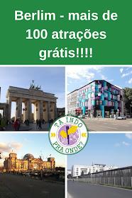 Mais de 100 atrações e atividades grátis em Berlim!!!