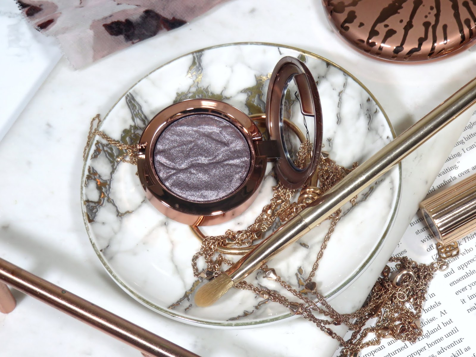 MAC Cosmetics Bronzer Collection Foiled Eyeshadows Review and Swatches