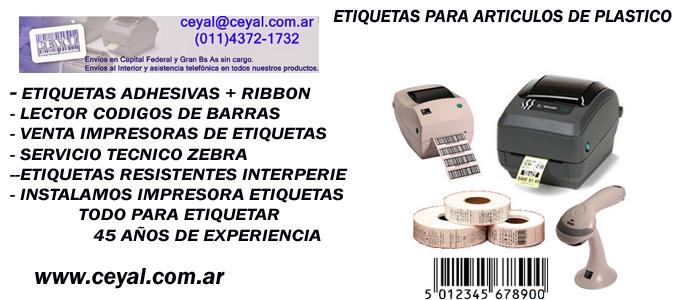 rollo de etiquetas adhesivas La Rioja