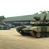Vietnamese T-90S/SK main battle tanks fitted with Shtora-1 active protection system