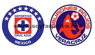 Cruz Azul vs Veracruz 2017