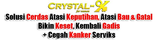 harga Crystal X Asli