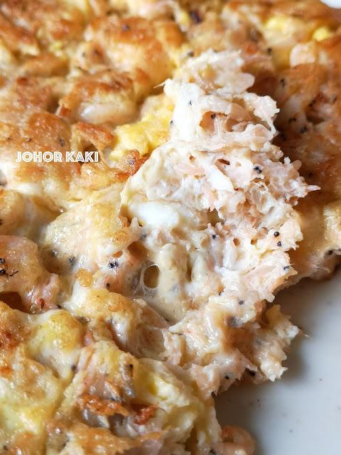 Krill Omelette