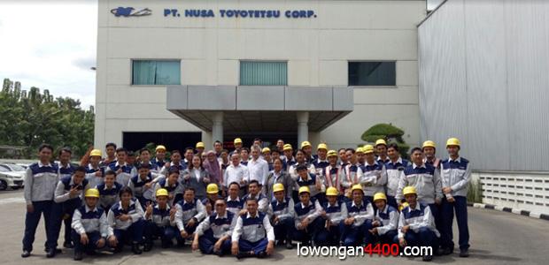 Lowongan Kerja PT. Nusa Toyotetsu Corp ( PT. NTC ) Terbaru