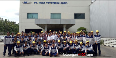 Lowongan Kerja PT. Nusa Toyotetsu Corp (PT. NTC) Terbaru