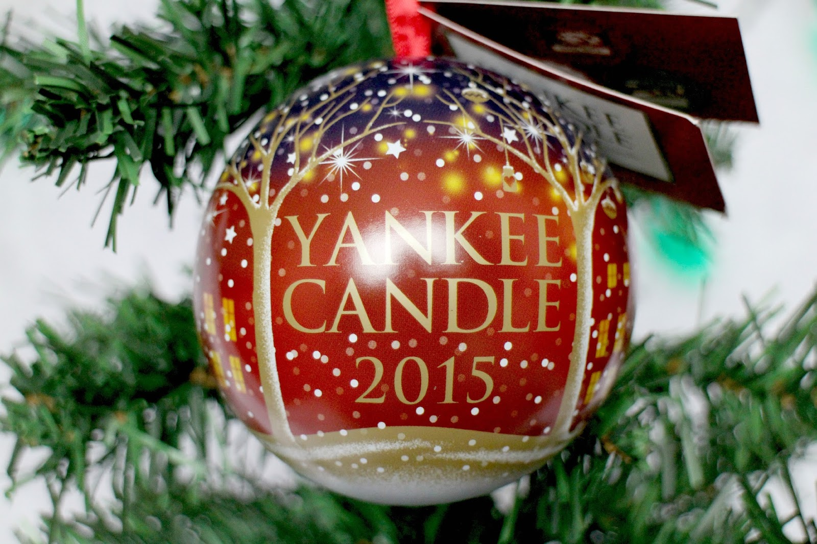 Yankee Candle 2015 Keepsake Bauble