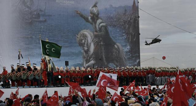 Ο ακραίος νεο-Οθωμανισμός του Ερντογάν