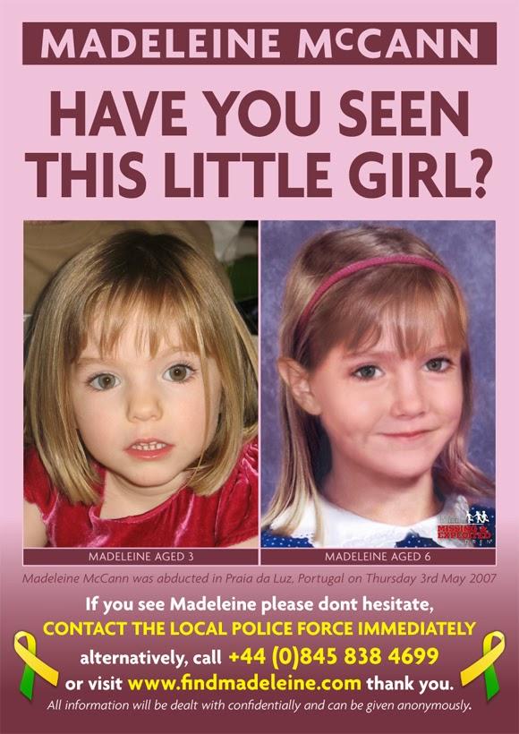 Amber Alerts and Missing Children Cases Updates: Madeleine ...