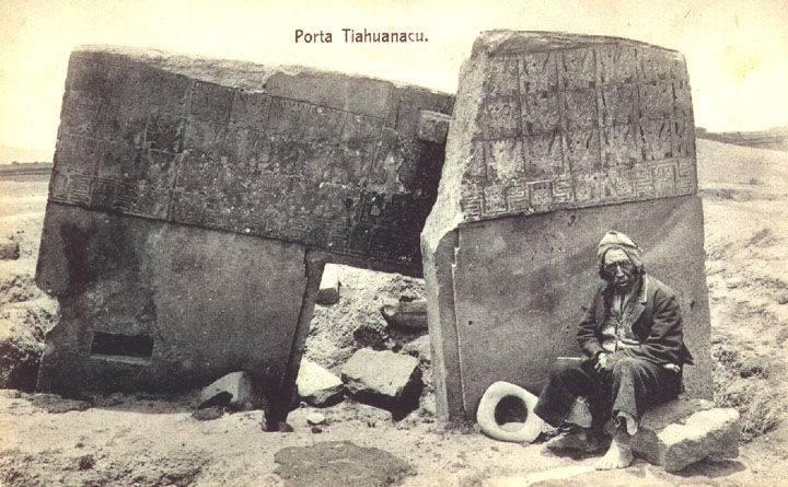 Según los nazis la antigua capital andina de Tiwanaku (Tiahuanaco) era creación de unos colonos nórdicos que habían llegado a Bolivia por mar hacía más de un millón de años.