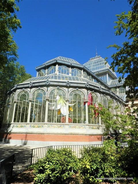El Palacio de Cristal del Retiro es gratis