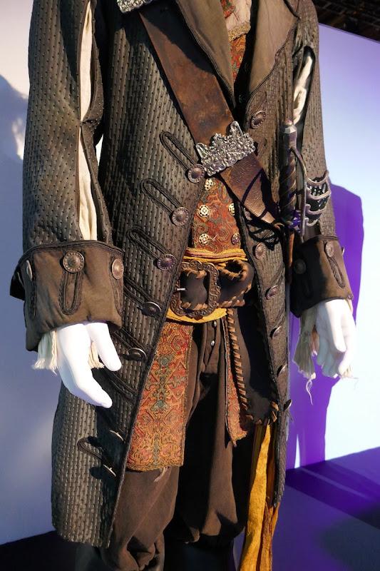 Pirates of Caribbean Captain Barbossa costume detail