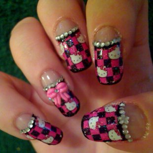 Hello Kitty Nails   Hello Kitty Forever