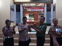 HUT Bhayangkara ke-73, Koramil 03/GP Sambangi Polsek Tanjung Duren