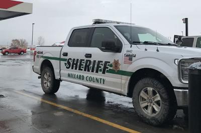 Sheriff Pickup Truck in Utah