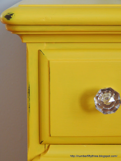 acrylic knob