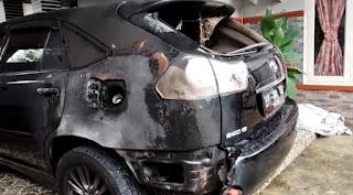 Pimred Media Realitas Diteror, Mobil Harrier Miliknya Dibakar OTK