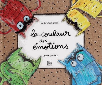 La couleur des émotions, Anna Llenas, Quatre Fleuves,