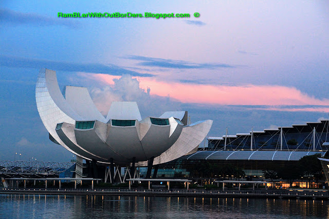 ArtScience museum, Marina Bay, Singapore