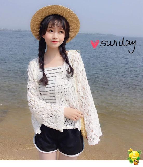 Shop ban ao luoi di bien gia re o Thanh Xuan