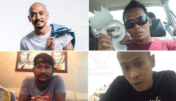 'Untuk tidak burukkan lagi keadaan, kami minta maaf' - Black, Tomok, Shuib & Achey mohon maaf, enggan panjangkan isu artis minta bantuan