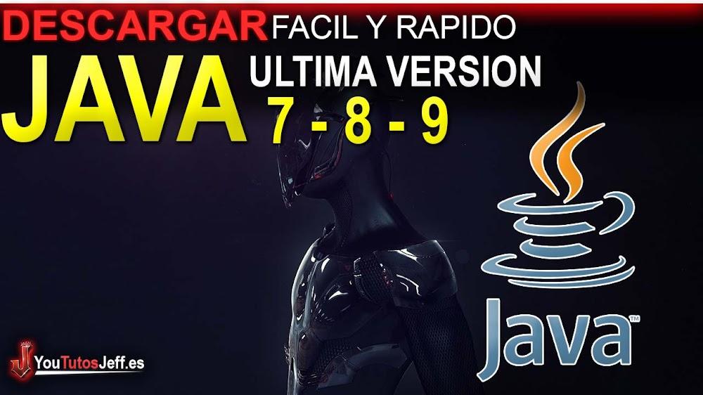 Como Descargar Java 7, 8 o 9 Ultima Versión ESPAÑOL - 32 y 64 Bits