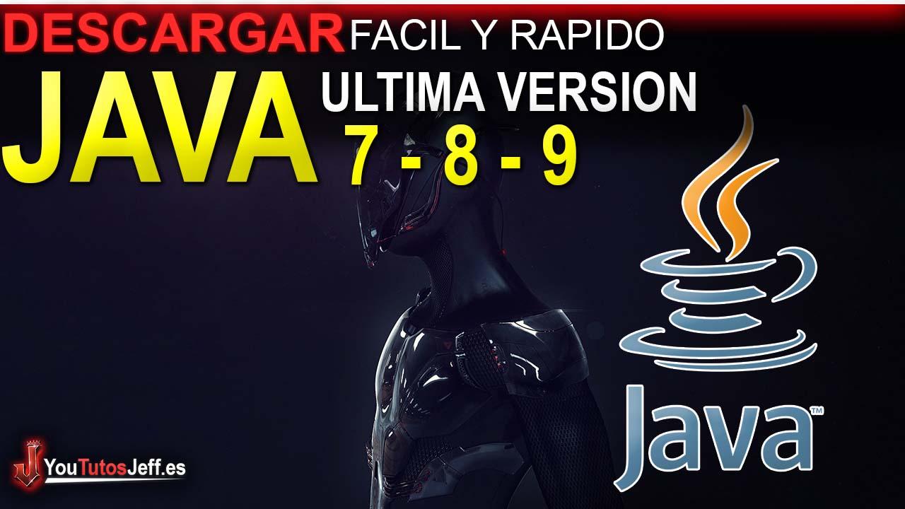 Como Descargar Java 7, 8 o 9 Ultima Versión FULL ESPAÑOL - 32 y 64 Bits