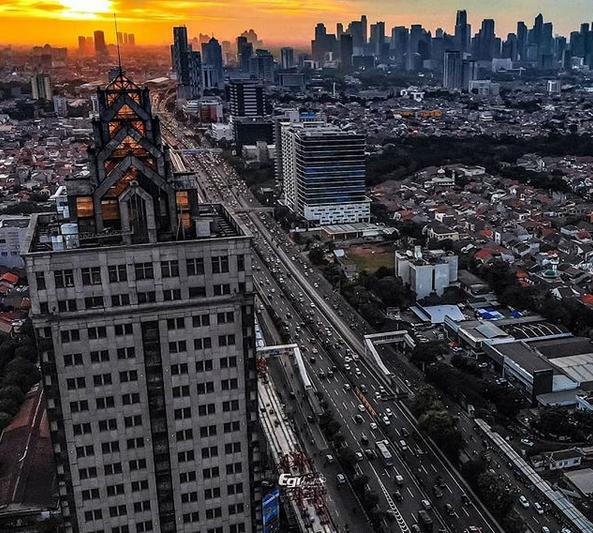 Misteri Menara Saidah, Menarah Terangker Di Jakarta