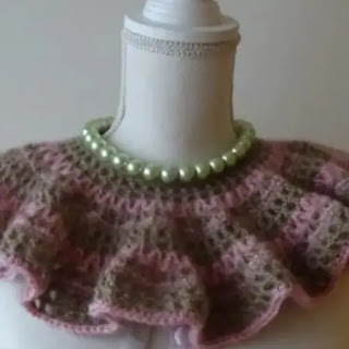 Collar Perlas a Crochet