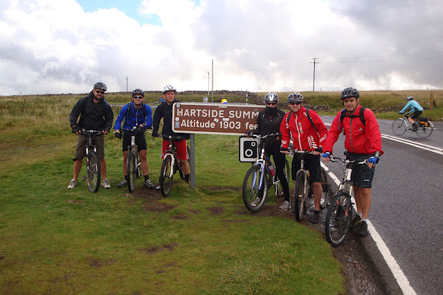 Hartside Pass - Coast 2 Coast cycle route - Whitehaven to Sunderland c2c - map - bed & breakfast - penrith - rookhope