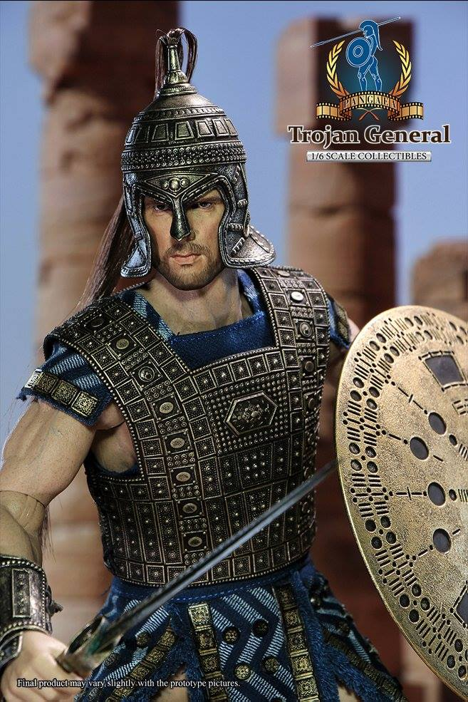 Coming soon: Pangaea Toy PG03 1/6th scale Trojan General