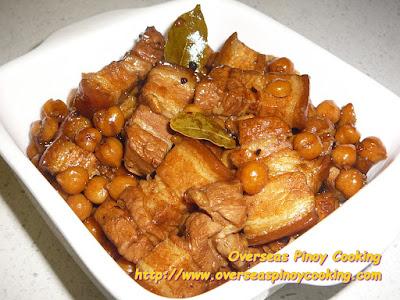Pork Adobo with Garbanzos