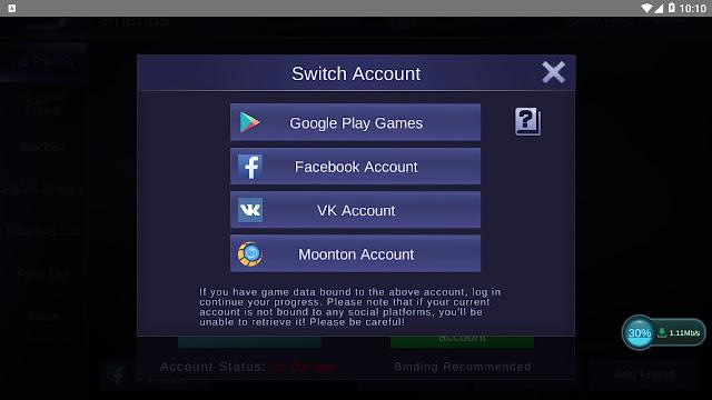 Cara Terbaru Membuat Akun Moonton di Mobile Legends