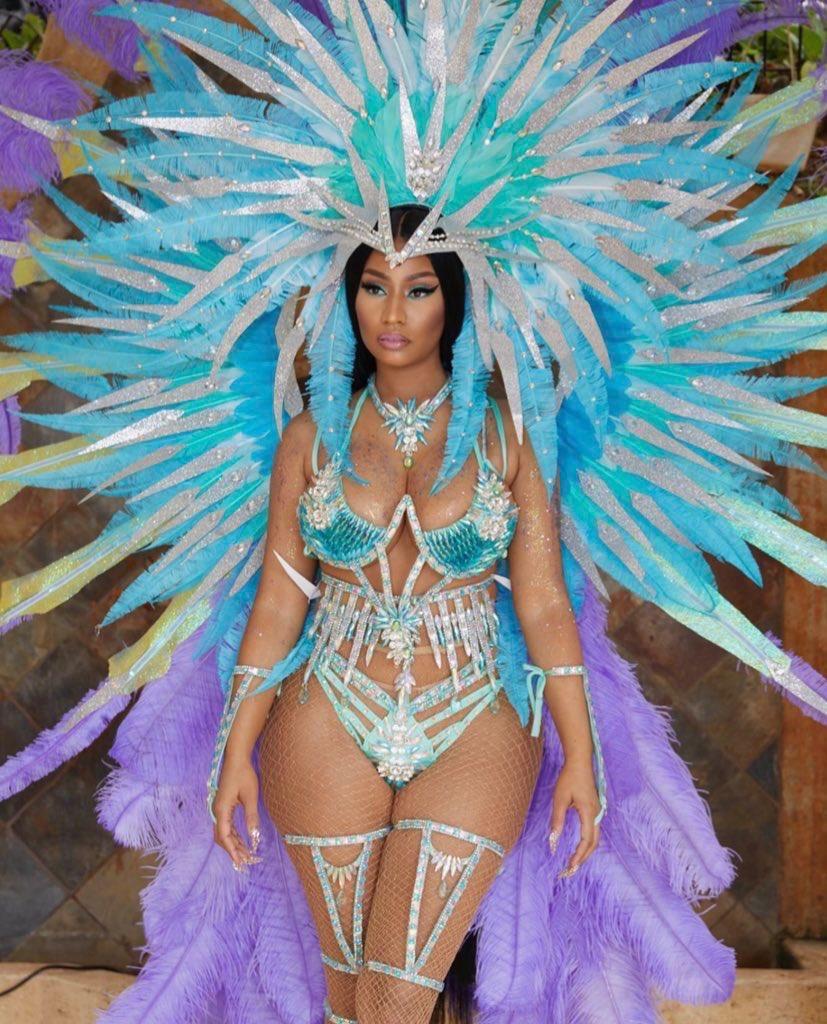 La tenue Carnaval de Nicki Minaj 2020