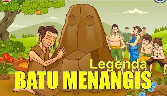 Kisah Asal Mula Batu Menangis – Mak Dasah dan Si Jelita (Kalimantan Barat)