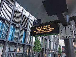 Bauarbeiten am Steintor: Linie 10 fährt in den Tunnel