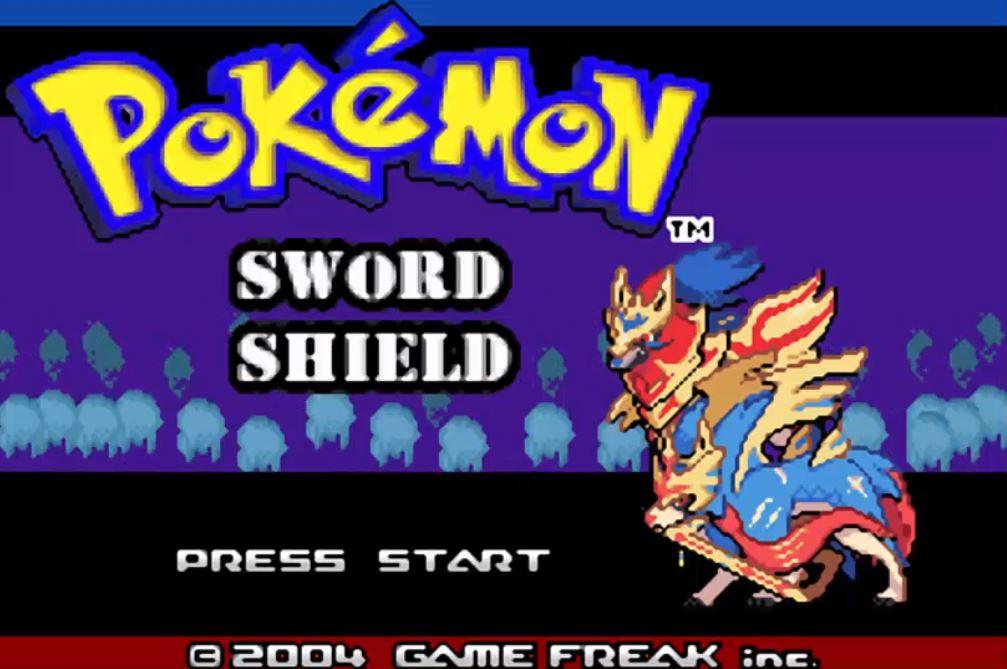 Pokemon Sword and Shield - Pokemon Espada y Escudo para GBA Imagen Portada