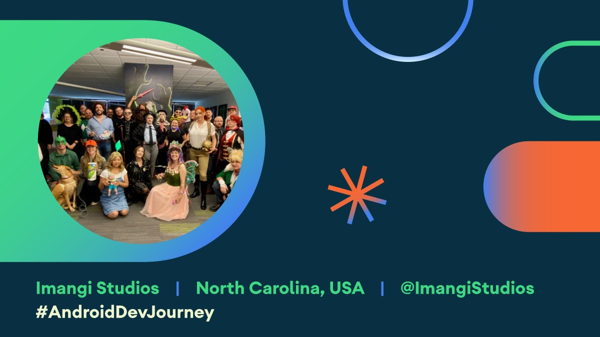 Photo of Imangi  Studios team within Android Dev Journey card.