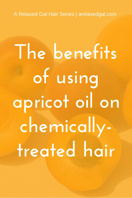 Apricot oil is rich in fatty acids, Vitamins A, C and E making it good for dry, chemically-treated and natural hair. See all the benefits at arelaxedgal.com