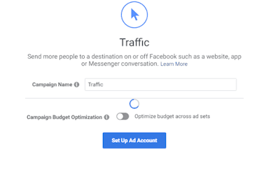Facebook ad campaign name