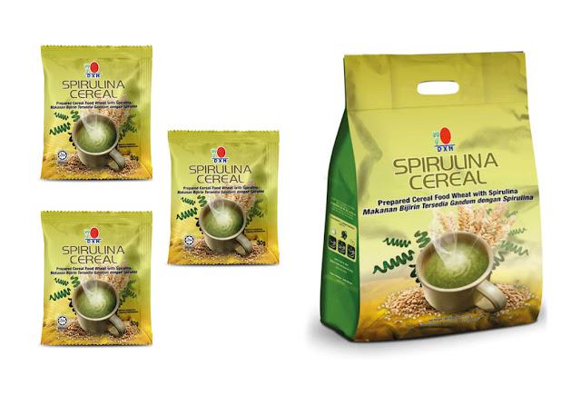 Spirulina es bien conocida como un alimento equilibrado, mientras que los cereales de alta fibra son generalmente recomendados por los nutricionistas. DXN Spirulina Cereal, hecho de cereales de alta calidad y espirulina en polvo ofrece una de las mejores fuentes de nutrición.