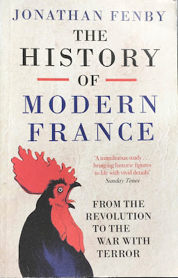 Book cover of The History of Modern France by Jonathan Fenby